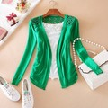 2013 Fashion Candy 11 Colors Sweet Cardigan Lace Hollow out Women's Cardigan Sweater