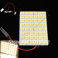Free Shipping New 48 LED 5050 SMD Room Dome Door Car Interior Light Bulb Lamp