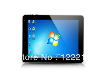 9.7inch windows8 Tablet PC Intel Atom N2600	  WIN8 + Andriod 4.1, Dual system