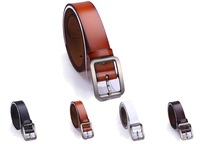 Free Shipping Genuine Leather Belts For Men 100%Cowskin Pin Buckle  Wholesale & Retail Factory Directly Selling