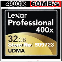 Lexar 400X 90MB/s Compact Flash CF Memory Card 16GB 32GB Really capacity For digital Cameras Free shipping