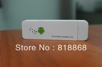 Latest Firmware WiFi Plus Version Android 4.0 Mini PC Cortex TV Stick HDD Player TV Box HDMI