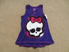 2013 girl's cartoon monster high fashion design t-shirt, short sleeve xs-xl free shipping(China (Mainland))