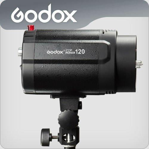 Free Shipping GODOX Mini Pionee 120 120WS Studio flash Photography Light /Studio Flash Light(China (Mainland))