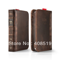 Wholesale 50/lot New arrival Retro Book Design Flip Book Leather Wallet case Samsung Galaxy SIII i9300  S3 Free shipping