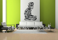 High quality 55*85cm Islamic muslim design Home stickers wall decor Murals Decals Art Vinyl No58