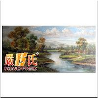 Pure landscape oil painting box art decorative painting yspt1002610