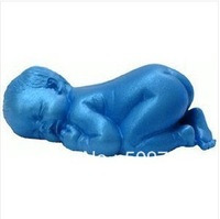 Sleeping Baby Shape Silicone Mold Soap Mold Sugarcraft Cake Decoration Fondant
