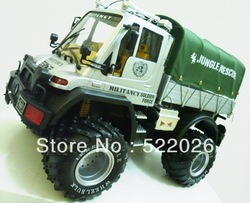 Hot NEW 48cm 5CH 1:10 Big Size RC Container Truck With Amazing Lights Big Foot Truck RC Toys As Great Gift(China (Mainland))