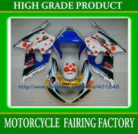 Free shipping mix color motorcycle fairings kit GSXR 600 GSXR 750 2001 2002 2003 ABS body work fairing k1 SUZUKI