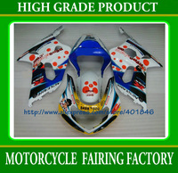 Free shipping mix color motorcycle fairings kit GSX-R600,GSX-R750 2001 2002 2003 ABS body work fairing k1 SUZUKI