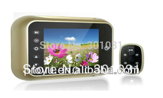 Promotional 3.5'' new digital door peephole viewer PY-V518(China (Mainland))