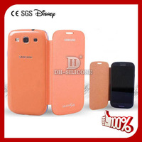 Special for samsung i9300 back cover with high quality PU flip, New arrival