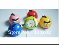 Retail  Bird Mini digital mp3 player Kids MP3 Player with Card Slot MP3+ USB Cable+ earphone Free shipping