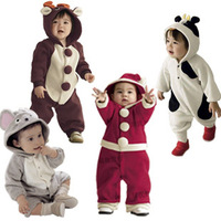 2013 spring and autumn velvet animal style child baby romper bodysuit children romper