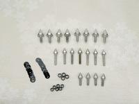 motorcycle parts Spike Fairing Bolts Screws Washers Kit For Honda CBR 600 RR 2003 2004 2005 2006 For Honda CBR 1000 RR 2004-2007