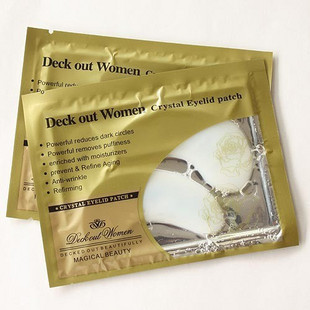 New 2014 Hot selling Crystal Collagen Eye Mask Anti-Wrinkle Skin Care Eye Mask   free shipping