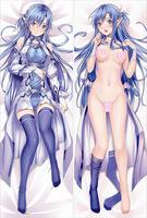 Free Shipping Anime Dakimakura hugging pillow case: Sword Art Online -20130328