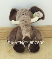 Lovely  elephant Plush Stuffed Animal Doll Toys  hot sale sit size 32 cm free shipping 1pcs/lot
