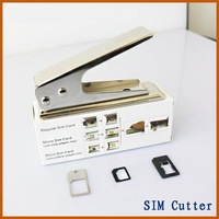Micro Standard Regular to Nano SIM Card Cutter For Apple iPhone 5 5G+ 3 Adapter