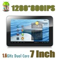 "cTab J7: 7"" Capacitive Touch Screen Android 4.1 Jelly Bean Tablet, Dual Core, 1G RAM + 16G ROM, RK3066"