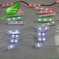 1Pack(100pcs),20pcs/string,39*12mm, Advertisement sign channel letter LED module (SMD 3528,2LEDs,Plastic case,white color)