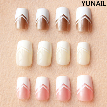 5 ! brief false nail french false nail art patch