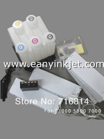 Bulk  ink  system with chip decoder for  SC-T5000 large format printer  for SC-5000 printer continuous system