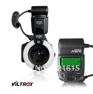 JY-670 Macro Close-Up O Ring LED flash for Canon Nikon Pentax Olympus(China (Mainland))