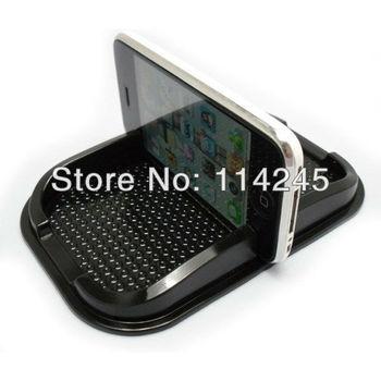 2 pcs Multi-functional Rubber Mobile Phone Shelf car Anti Slip pad antiskid mat For MP3/ IPhone/ Cell Phone Holder