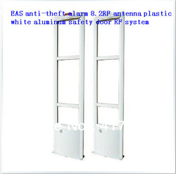 EAS anti-theft alarm 8.2RF antenna plastic white aluminum safety door RF system(China (Mainland))