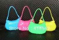 free shipping, doll accessories, doll handbag, lady bag, 200pcs/lot, USD68/LOT
