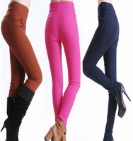 New Fashion! Women High Waist Pants Stretch Sexy Pencil Slim Fit Skinny Jeans Trousers 3785