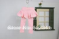 Spring baby girls leggings children Korean version of the cotton backing pants children's clothing Culottes