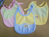 Free shipping (3 pieces/lot) 100% cotton baby bibs&burp cloths small children accessories baby cloth