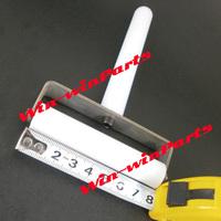 8cm white roller for iPhone 4 4s 5 for samsung i9300 s3 s2 note 2 lcd screen film wheel refurbish