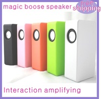 10pcs/lot DHL free shipping Magic Boose Near-Field Audio for iPhone 5 Android Smartphone