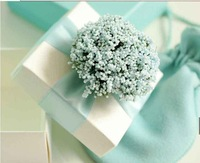 50Pcs/Lot Free Shipping Quietly Elegant Navy Wedding Favor Candy Boxes Gift Box Lavender With Ribbon Desgin