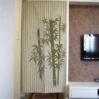 Free Shipping Chinese Bamboo Design Door Curtain Japanese Noren D2942