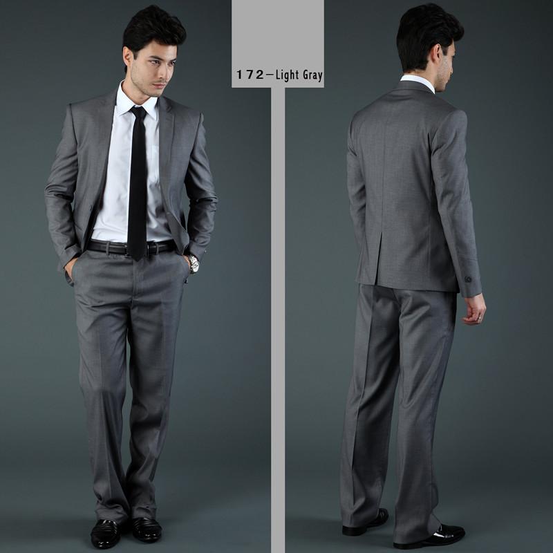 2017 Wholesale Fashion Design Brand Men Suits Casual Business ...