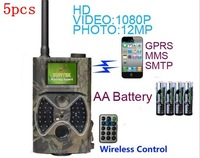 Hunting Camera Game Camera IR Infrared Game Scouting with GSM/Email &External Antenna Wireless Control HC-300M & GPRS