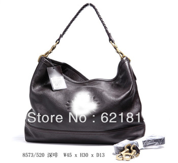 New style fashion leather handbags yellow,large tote shoulder bags 2013