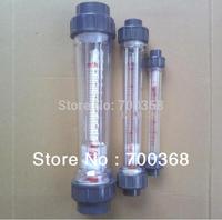 Freeshipping water flow meter, rotameter, liquid flowmeter 5pcs/lot LZS-25