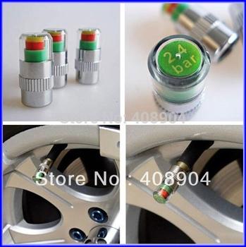 High Quality Gift Tire Pressure Sensor Monitor Pressure Gauge Indicator Valve Stem Cap 200pcs