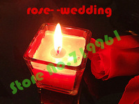12pcs/lot Free shipping rose taste candle sales as wedding Party Bithday  Valentine's days gifts