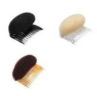 Perfect DIY 120pcs/lot Nylon Hair Shapers Hair Insert comb hair accessory Pad