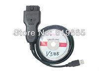 2013 High Quality VAG CAN Commander 5.5+ Pin Reader 3.9Beta VAG Kilometers Program For Volkswagen Audi Group Free Shipping