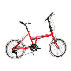 1111 folding bicycle folding bicycle 20 aluminum alloy frame(China (Mainland))