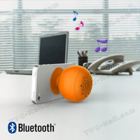 10PCS/Lot Mini Bluetooth Speaker for Bluetooth Apple iPhone iPad Samsung Phones Etc with Suction Cup Mount DHL free shipping