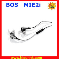 Hot sale brand new  Bos MIE2i professional earphones with wholesale cheap price and ship by DHL/EMS+Free shipping